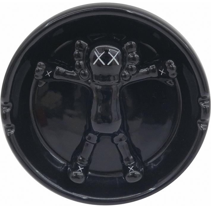 (オブジェ)灰皿・黒