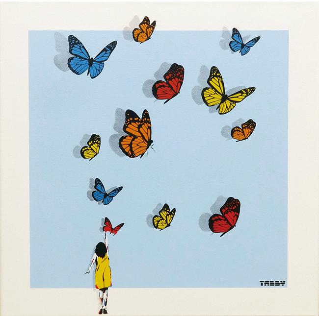 蝶々ガール