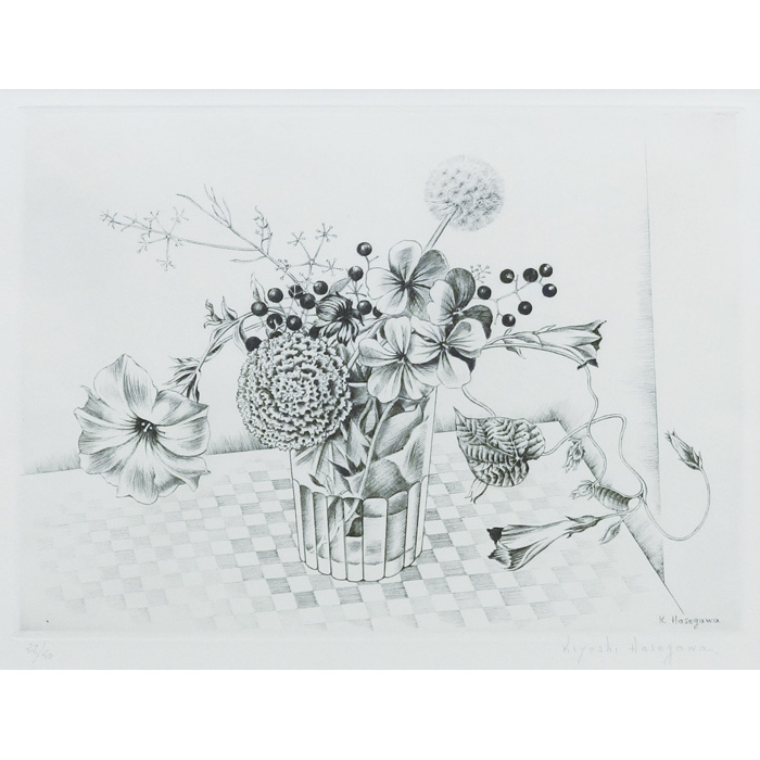 せんじゅ菊と草花