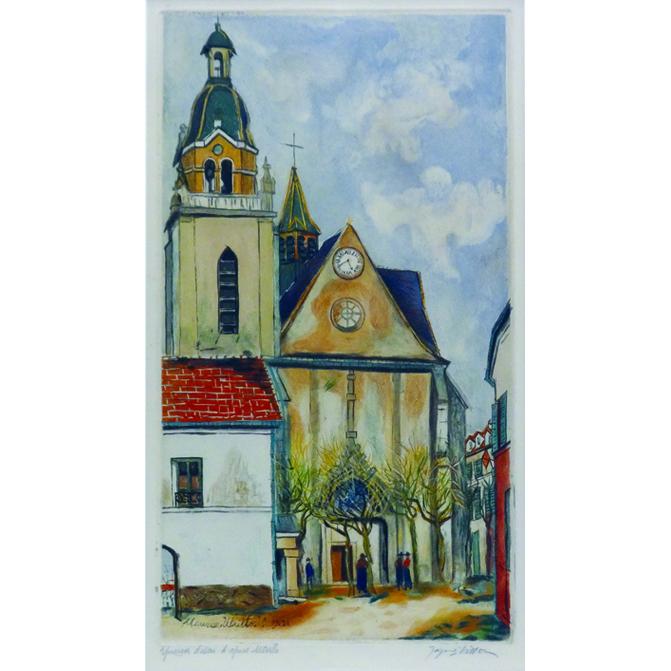 リムールの教会(ヴィヨン版)
