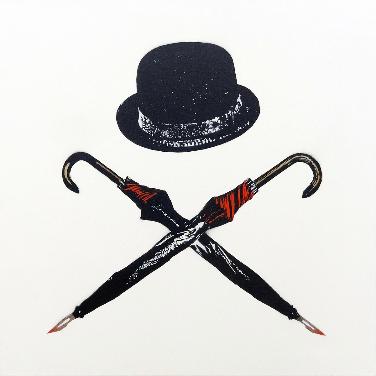 UNTITLED (HAT & UMBRELLA)