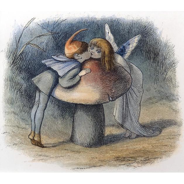 妖精のキス(リチャード・ドイル)