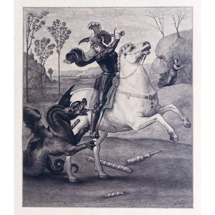 龍と闘う聖ゲオルギウス(ラファエロ)