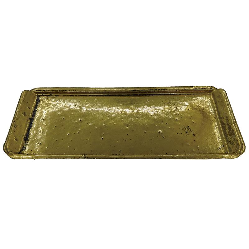 【立体】金彩皿