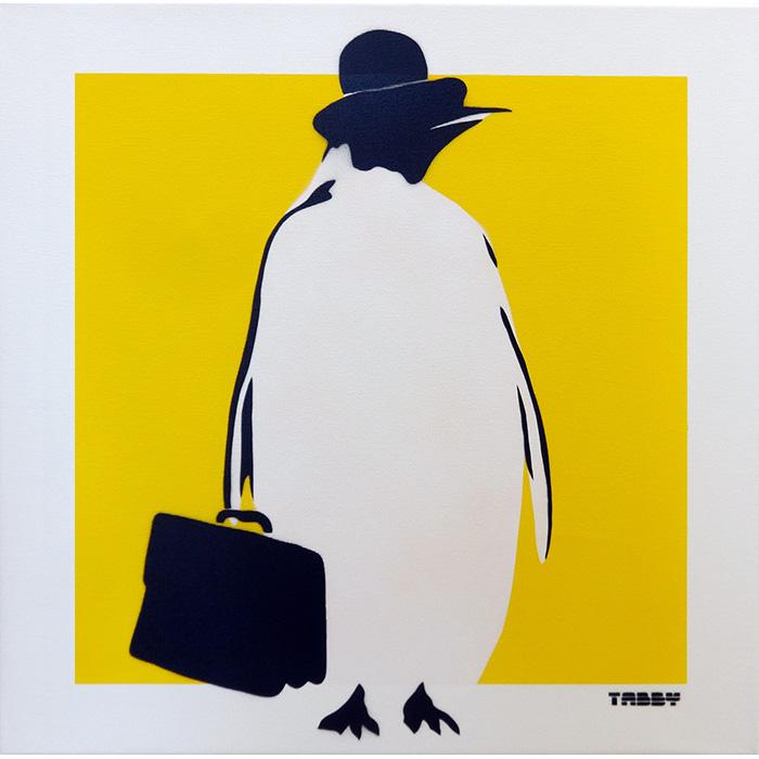 出勤ペンギン(黄)