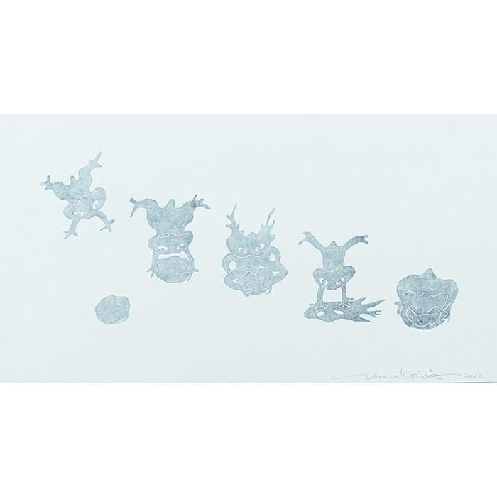 変身隕石(白)